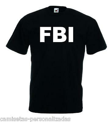 Camiseta Fbi, Police, Security