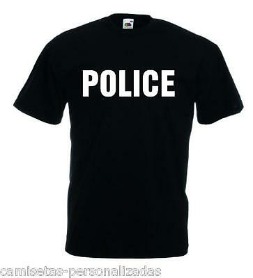 Camiseta  Police, Fbi, Security