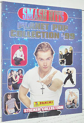Album Vierge Panini Smash Hits Planet Pop 1998 Empty Leer Neuf France Coll. 1999