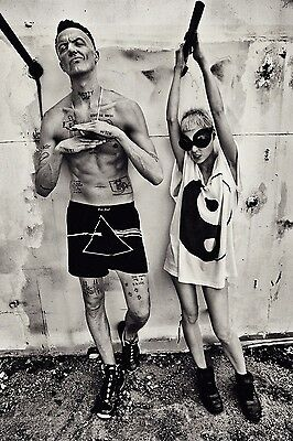 Die Antwoord Music Band Grou Fabric Art Cloth Poster 20inch x 13inch Decor 27
