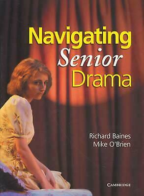 Navigating Senior Drama by Mike O'Brien Paperback Book Free Shipping!