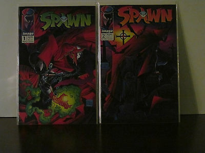 Spawn Lot of 2 Image comics - Spawn #1 and Spawn #2
