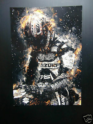 "High Quality A3 poster print - ""The Prayer"" - Isle of Man TT Races  [A3-03]"