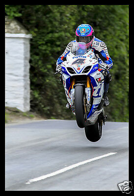 High Quality A3 poster print - Guy Martin - Isle of Man TT Races  [A3-04]