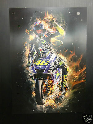 High Quality A3 poster print - Valentino Rossi  [A3-06]