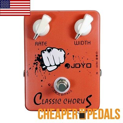 JOYO CLASSIC CHORUS JF-05 ANALOG GUITAR EFFECTS PEDAL *FREE* Shipping! US Dealer