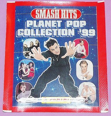 Pochette Neuve Panini Smash Hits Planet Pop 1998 France Coll. '99 Bustina Packet