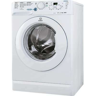 Indesit XWD71252W A++ 7Kg 1200 Spin 16 Programmes Washing Machine in White New