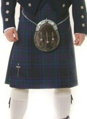 Spirit Of Scotland 5 Yard Wool Made in Scotland Kilt Usually £199 All Sizes New