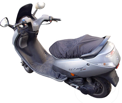 Universal Motorcycle Scooter Waterproof Slip On Seat Cover 70 x 120 cm