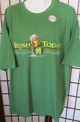 Sonoma Lucky Whiskey Try your luck Sports Bar Mens T Shirt 2XL 100% Cotton New