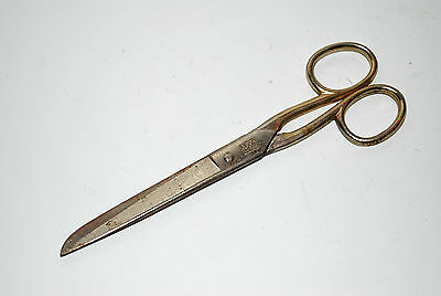 Vintage Original Scissors Marked GERMANY with 2 Lions holding Scissors! USED!