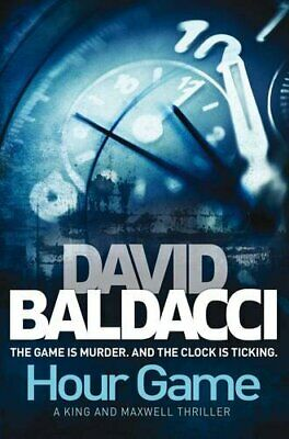 Hour Game (King & Maxwell 2) by Baldacci, David Paperback Book The Cheap Fast
