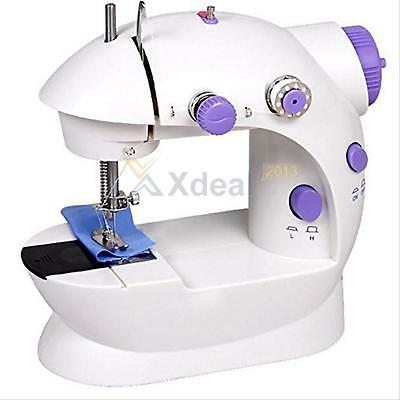 Mini Electric Portable Desktop Sewing Machine Hand Held Household Sartorially