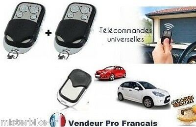 2x t l commande universelle copieuse 433 mhz bip porte de for Bip porte garage