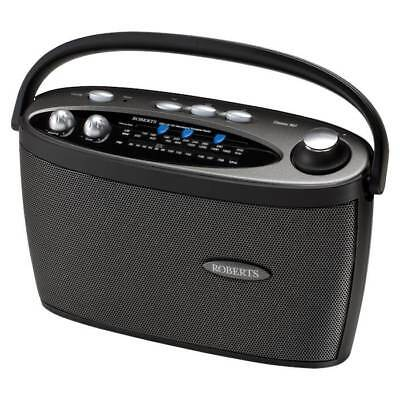 Roberts Classic 997 Black Portable 3 Band LW/MW/FM Radio with Headphone Output