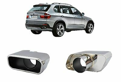 BMW X5 E70 (2007+) Exhaust Muffler Tips M Sport Tailpipes Tail Pipes