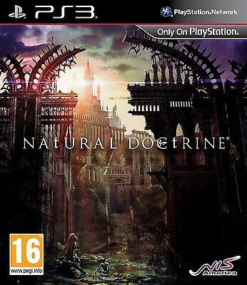 Natural Doctrine (PS3) BRAND NEW SEALED SONY PLAYSTATION 3