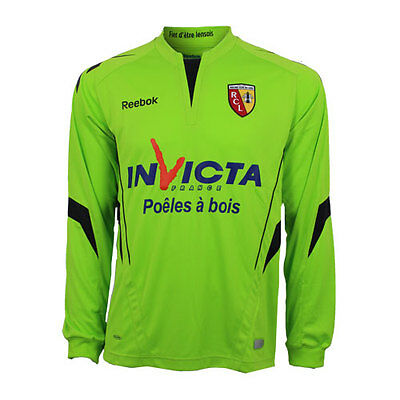 RC Lens home keeper long sleeve jersey K37715 Reebok (new in bag with tags)