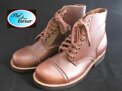 Lutece MFG Co Vintage Boots Leder Stiefel Rockabilly V8 Hot Rod US Army Gr 6-13