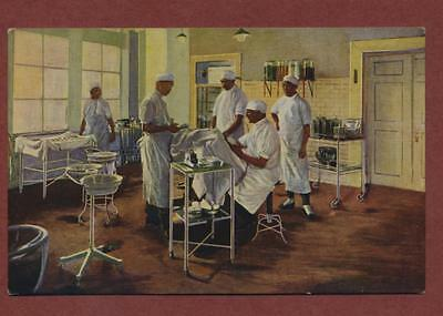 Chinese Medical Operating Theatre Hospital vintage   postcard     qh.385