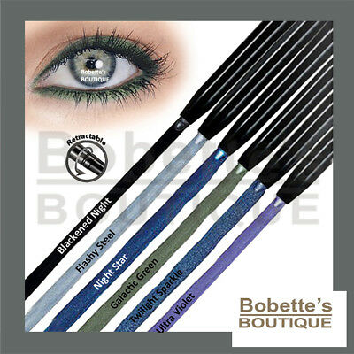 CRAYON EYE LINER Rétractable CHROME EFFECTS Longue Tenue Contour des Yeux AVON