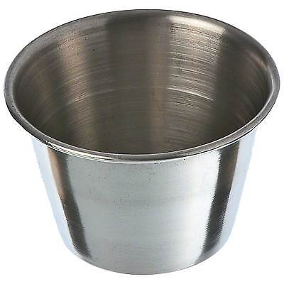Pack of 36 Stainless Steel 2.5 oz Sauce Butter Condiment Cocktail Cups