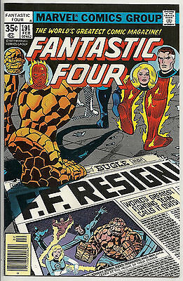 Fantastic Four  #191  NM-