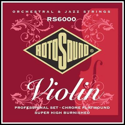 Rotosound RS6000 4/4 Orchestral / Jazz Professional Flatwound Violin Strings