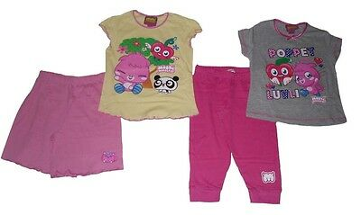 Girls Pyjamas Moshi Monsters 5-10 Years Old 2 Designs Available