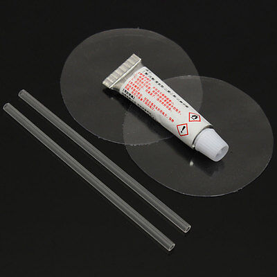 PVC Repair Kit Puncture Patch Glue For Inflatable Toy Swim Ring Air Bed Dinghies