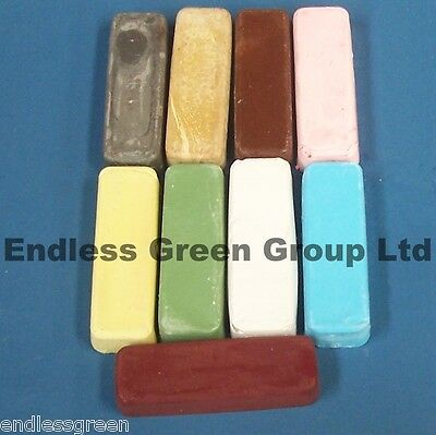 "4"" Buffing Bar - For Bench Polishing & Dremel  Polishing Compound Choice - 110g"