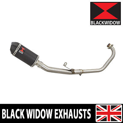 Cbr 125 Cbr125R 2011-2017 Exhaust System 200Mm Oval Full Carbon Silencer 200Ct