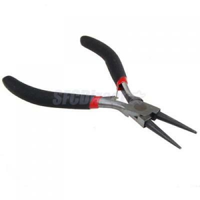 Steel Round Nose Plier Hobby Craft Beading Jewelry Making Repair Tool 4.7 inch