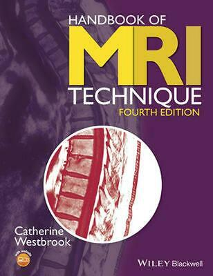 Handbook of MRI Technique 4E by Catherine Westbrook (English) Paperback Book Fre