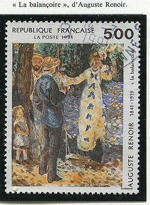 Stamp / Timbre France Oblitere N° 2692 Tableau Auguste Renoir