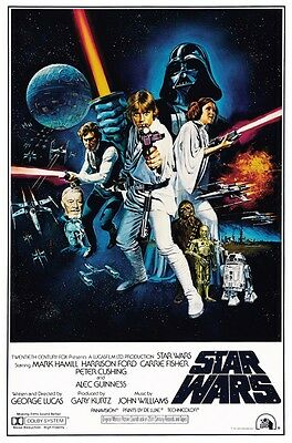 STAR WARS A New Hope PHOTO Print POSTER 1977 Movie The Force Awakens Shirt 001