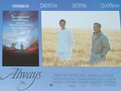 ALWAYS - 11x14 US Lobby Cards Set - Steven Spielberg, Holly Hunter