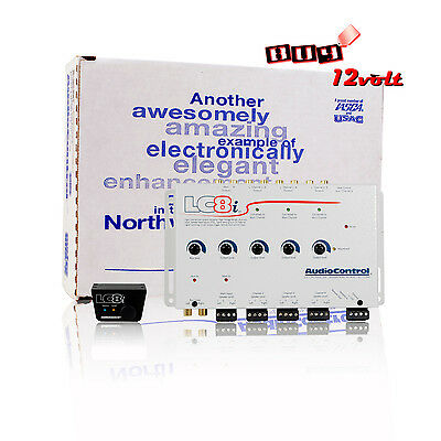 AudioControl LC8i White  8-Channel Line Output Converter