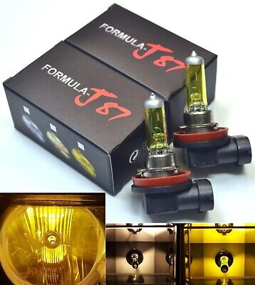 Halogen H8 35W 3000K Two Bulb Fog Light Replacement High Quality Plug Play Lamp