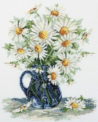 Daisy-A-Day -  Cross Stitch Chart - Country Threads