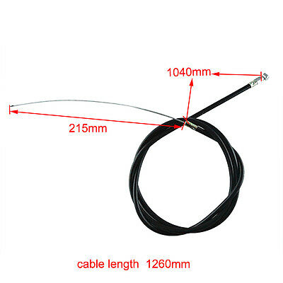 Clutch Cable Line For Gas Chopper Motorized Bicycle Bikes Motor 49cc - 80cc A3