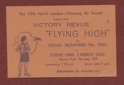 79th North London - Hornsey Air Scouts.  1945 'Flying High' Victory Revue qi.69
