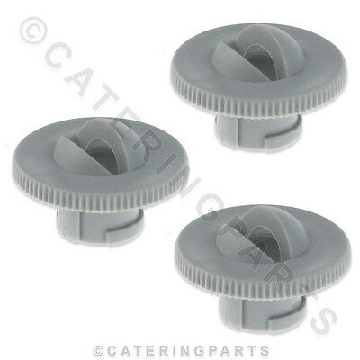 SET OF 3 x COMENDA 170947 WIDE OPEN JET NOZZLES FOR WASH ARM HOONVED DISHWASHER