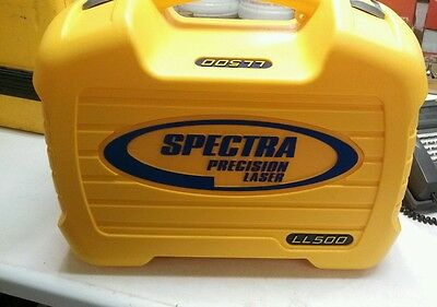 Spectra LL500 REPLACEMENT LASER LEVEL CASE 1046-4750