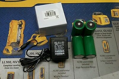 Spectra NI-CAD RECHARGABLE BATTERY PACK  KIT LL300 LL500 L600 G PLUS EL-1 LASER