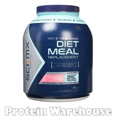 Sci Mx Nutrition Diet Pro Meal 2kg Meal Replacement Protein Shake Fast Free P&P