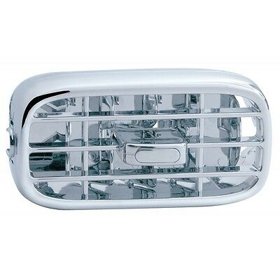 Peterbilt Chrome A/C Vent (Dash) 379, 384, 386, 388, 389 (2006+)