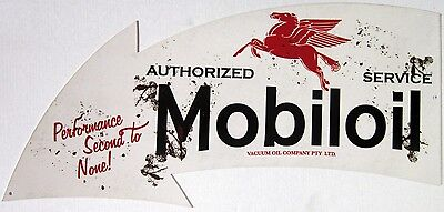 "Authorized Mobiloil  Arrow ( 34"" by 14"" )"