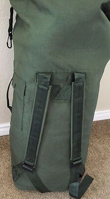 US Army Military Nylon or Canvas Duffel Duffel Camping Survival Bat Bag USA Made